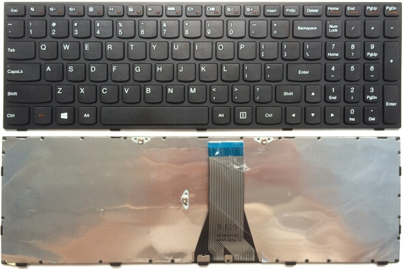 Lenovo E50-80 Keyboard in black