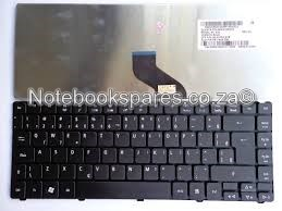 ACER ASPIRE 4810T LAPTOP KEYBOARD IN BLACK