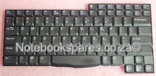 DELL LATITUDE C600 LAPTOP KEYBOARD IN BLACK